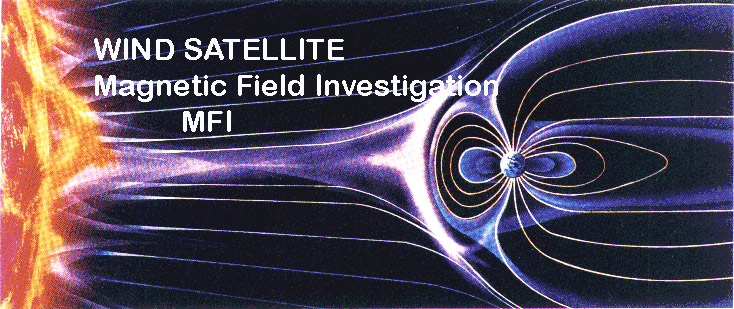 WIND/MFI Satellite